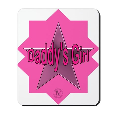 Daddy's Girl (Star) Mousepad