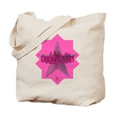 Daddy's Girl (Star) Tote Bag
