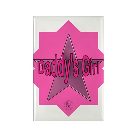 Daddy's Girl (Star) Rectangle Magnet (10 pack)