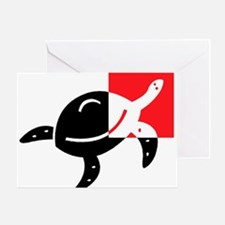 Turtle_1 Greeting Card
