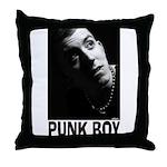 Punk Boy Punk Rock Design Throw Pillow