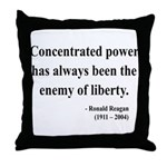 Ronald Reagan 5 Throw Pillow