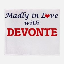 Madly in love with Devonte Throw Blanket