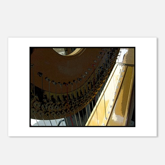 harp Postcards (Package of 8)
