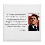 Ronald Reagan 6 Tile Coaster