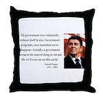 Ronald Reagan 6 Throw Pillow