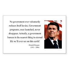 Ronald Reagan 6 Rectangle Decal