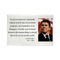 Ronald Reagan 6 Rectangle Magnet (100 pack)