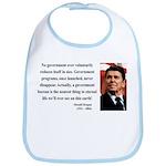 Ronald Reagan 6 Bib
