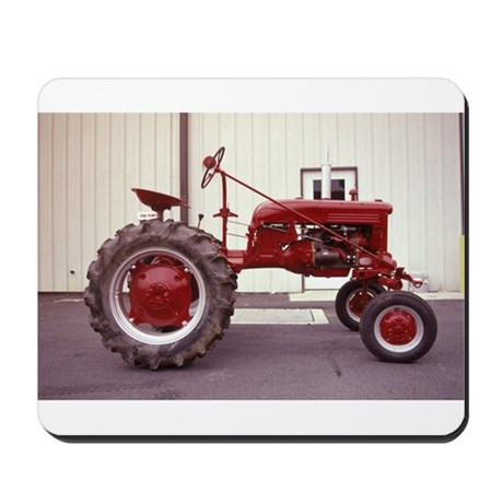 Ole Red Tractor Mousepad