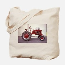 Ole Red Tractor Tote Bag