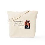 Ronald Reagan 7 Tote Bag