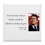 Ronald Reagan 7 Tile Coaster