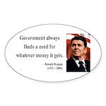 Ronald Reagan 7 Oval Sticker