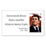 Ronald Reagan 7 Rectangle Sticker