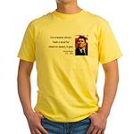 Ronald Reagan 7 Yellow T-Shirt