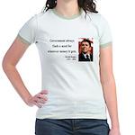 Ronald Reagan 7 Jr. Ringer T-Shirt