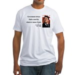 Ronald Reagan 7 Fitted T-Shirt