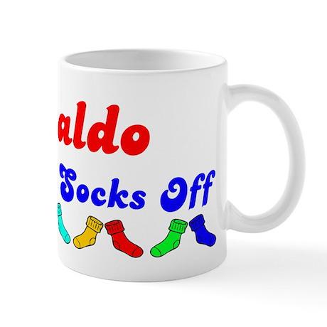 Ronaldo Rocks Socks (B) Mug