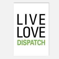 Live Love Dispatch Postcards (Package of 8)