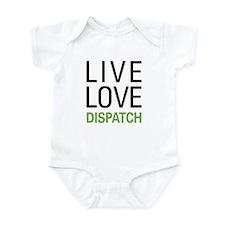Live Love Dispatch Infant Bodysuit