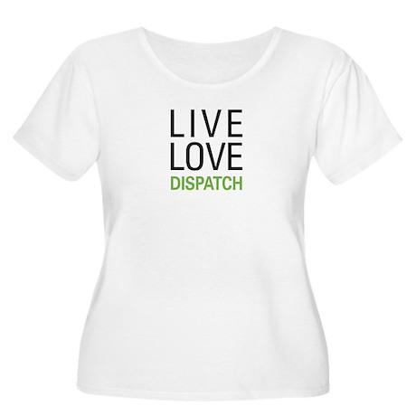 Live Love Dis Women's Plus Size Scoop Neck T-Shirt