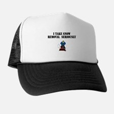 Cute Snowing Trucker Hat
