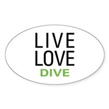 Live Love Dive Decal
