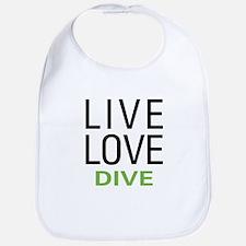 Live Love Dive Bib
