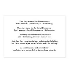 They Came For Postcards (Package of 8)