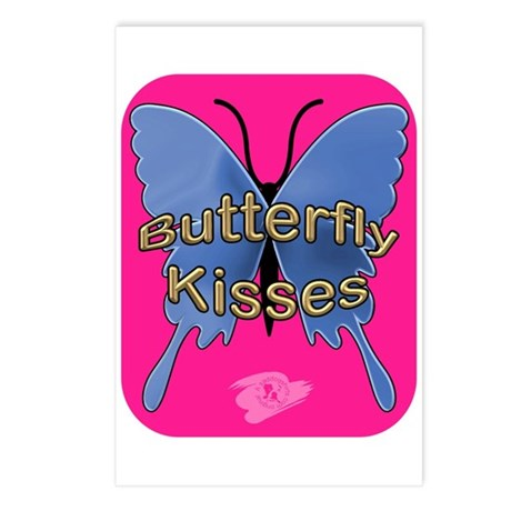 Butterfly Kisses Postcards (Package of 8)