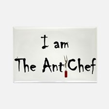 Anti-Chef Rectangle Magnet