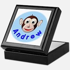 Monkey Andrew Keepsake Box