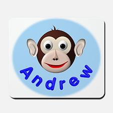 Monkey Andrew Mousepad