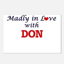 Madly in love with Don Postcards (Package of 8)