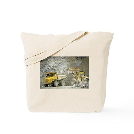 Dump Truck w/ Tractor Tote Bag