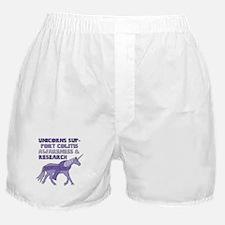 Unicorns Support Colitis Awareness Boxer Shorts