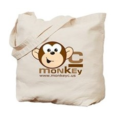 MonkeyC Front/Back Logo Tote Bag