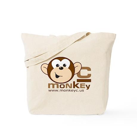 MonkeyC Front/Back Logo Tote Bag