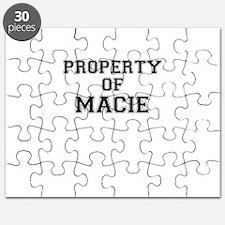 Property of MACIE Puzzle