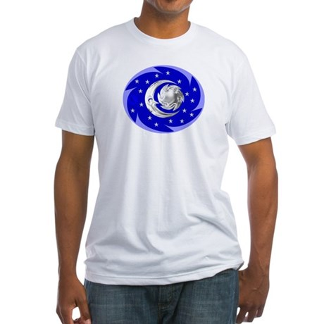 Sun, Moon & Stars Fitted T-Shirt
