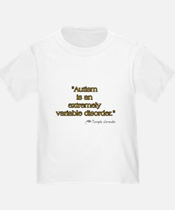 Autism is Variable T
