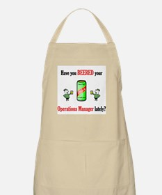 Office Manager BBQ Apron