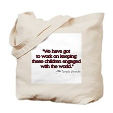 Work to Engage Autism Tote Bag