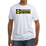 No Liberal Psychobabble Fitted T-Shirt