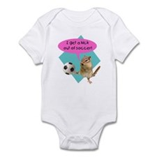 Soccer Kick Infant Bodysuit