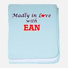Madly in love with Ean baby blanket