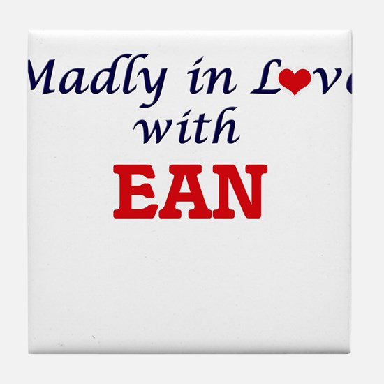 Madly in love with Ean Tile Coaster