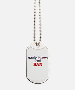 Madly in love with Ean Dog Tags
