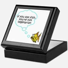 If you eat fish Keepsake Box